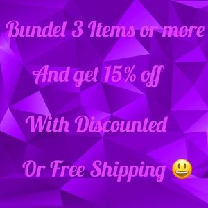 Other - Bundle to SAVE !!
